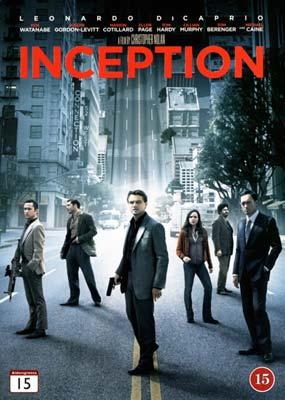 Inception  (DVD) - Klik her for at se billedet i stor størrelse.