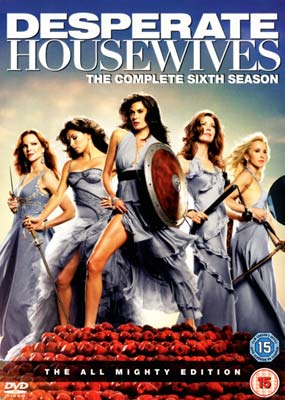 Desperate Housewives:  Season  6 (6-disc) (DVD) - Klik her for at se billedet i stor størrelse.