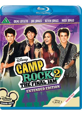Camp Rock 2: The Final Jam (Blu-ray) (BD) - Klik her for at se billedet i stor st�rrelse.
