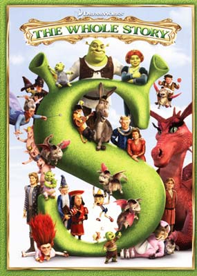 Shrek Quadrilogy,     The (5-disc) (DVD) - Klik her for at se billedet i stor st�rrelse.