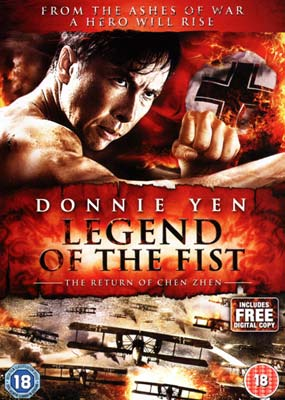Legend of the Fist (Donnie Yen)  (DVD) - Klik her for at se billedet i stor st�rrelse.