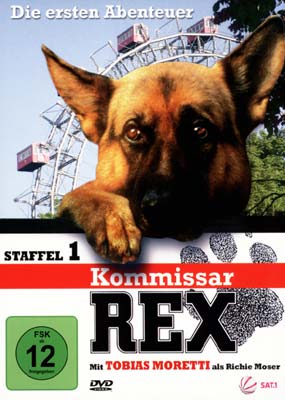 Kommissar Rex: Die ersten Abenteuer - Staffel 1 (3-disc) (DVD) - Laserdisken.dk - salg af DVD og ...