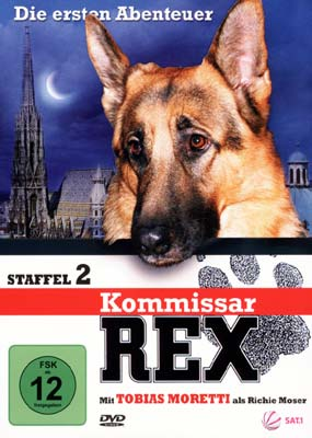 Kommissar Rex: Die ersten Abenteuer - Staffel 2 (3-disc) (DVD) - Laserdisken.dk - salg af DVD og ...