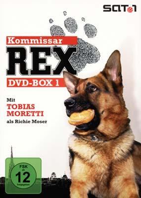 Kommissar Rex: DVD-Box 1 (4-disc) (DVD) - Laserdisken.dk - salg af DVD og Blu-ray film.