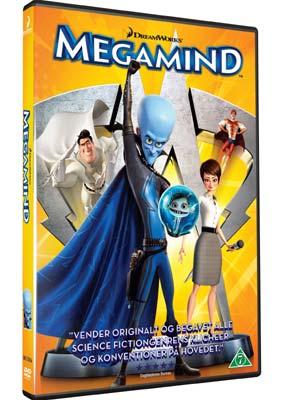 Megamind  (DVD) - Klik her for at se billedet i stor størrelse.