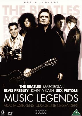 Music Legends (Dokumentar) (5-disc) (DVD) - Klik her for at se billedet i stor st�rrelse.