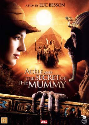 ad le and the secret of the mummy dvd salg af dvd og blu ray film. Black Bedroom Furniture Sets. Home Design Ideas