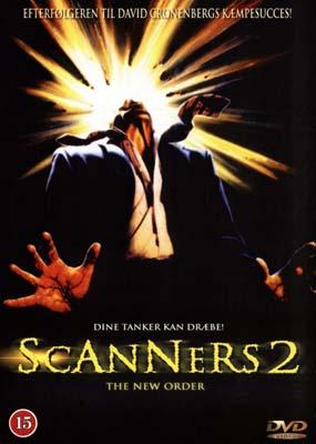 Scanners 2: The New Order  (DVD) - Klik her for at se billedet i stor størrelse.