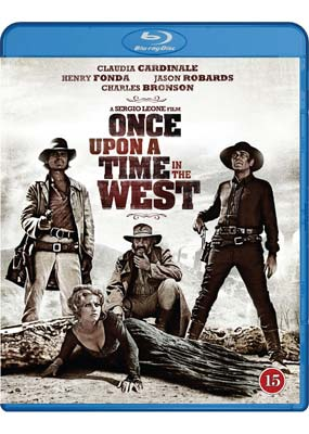 Once Upon a Time in the     West (Blu-ray) (BD) - Klik her for at se billedet i stor størrelse.