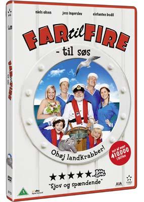 Far til fire - til  søs  (DVD) - Klik her for at se billedet i stor størrelse.