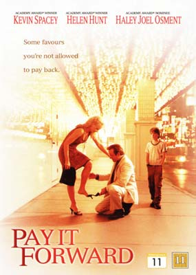 Pay It Forward  (DVD) - Klik her for at se billedet i stor st�rrelse.