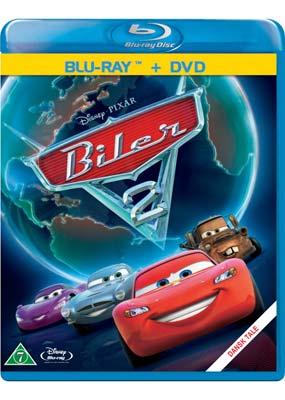 Biler 2 (Pixar) (Blu-ray & DVD) (BD) - Klik her for at se billedet i stor størrelse.