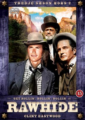 Rawhide:   3. sæson, Boks 2 (2-disc) (DVD) - Klik her for at se billedet i stor størrelse.
