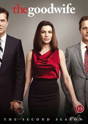 Good Wife, The: Season   2 (6-disc) (DVD) - Klik her for at se billedet i stor størrelse.