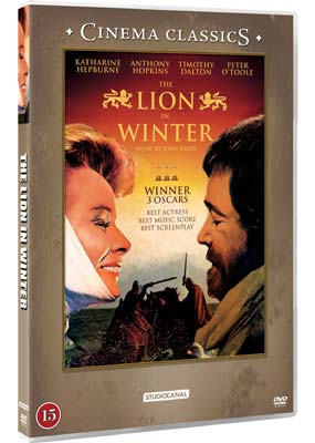Lion in Winter, The (Katharine Hepburn)  (DVD) - Klik her for at se billedet i stor st�rrelse.