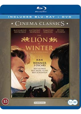 Lion in Winter, The (Katharine Hepburn) (Blu-ray & DVD) (BD) - Klik her for at se billedet i stor st�rrelse.
