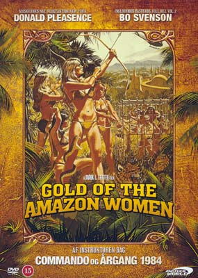 Gold of the Amazon Women  (DVD) - Klik her for at se billedet i stor st�rrelse.
