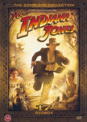 Young Indiana Jones: The Complete Adventures (17-disc) (DVD) - Klik her for at se billedet i stor størrelse.