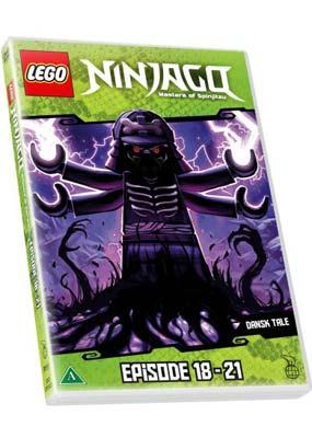 LEGO: Ninjago - Masters of   Spinjitzu, eps. 18-21  (DVD) - Klik her for at se billedet i stor størrelse.