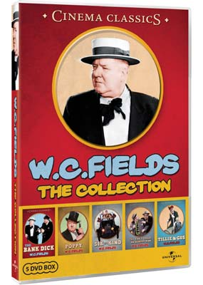 W.C. Fields: The Collection (5 film) (DVD) - Klik her for at se billedet i stor størrelse.