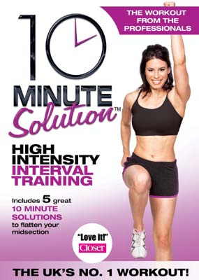 10 Minute Solution - High Intensity Interval Training  (DVD) - Klik her for at se billedet i stor størrelse.