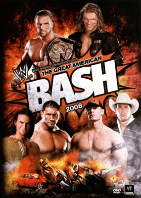 WWE: The Great American Bash 2008  (DVD) - Klik her for at se billedet i stor st�rrelse.