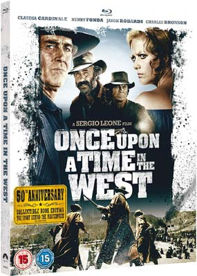Once Upon a Time in the     West: 50th Anniversary (Blu-ray) (BD) - Klik her for at se billedet i stor størrelse.