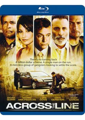 Across the Line: The Exodus of Charlie Wright (Blu-ray) (BD) - Klik her for at se billedet i stor størrelse.