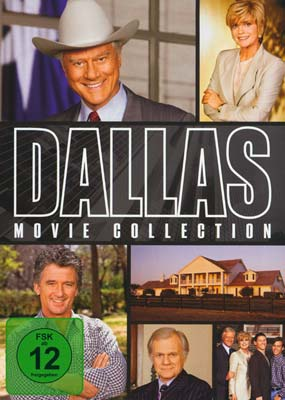 Dallas:   Movie  Collection (2-disc) (tysk omslag) (DVD) - Klik her for at se billedet i stor størrelse.
