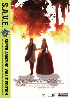 Le Chevalier D'Eon: The Complete  Series (4-disc) (DVD) - Klik her for at se billedet i stor st�rrelse.