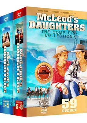 McLeod's     Daughters: The Complete  Collection (59-disc) (DVD) - Klik her for at se billedet i stor størrelse.