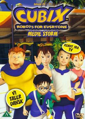 Cubix 7 - Eps. 20-23: Medie Storm  (DVD) - Klik her for at se billedet i stor størrelse.
