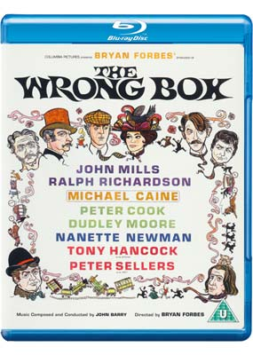Wrong Box, The: Limited Edition (Blu-ray) (BD) - Klik her for at se billedet i stor størrelse.