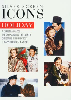 Silver Screen Icons: Holiday (4 film) (DVD) - Klik her for at se billedet i stor størrelse.