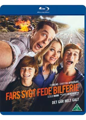 Fars sygt fede bilferie (Blu-ray) (BD) - Klik her for at se billedet i stor størrelse.