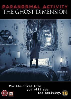 Paranormal Activity 5:  The Ghost Dimension  (DVD) - Klik her for at se billedet i stor størrelse.