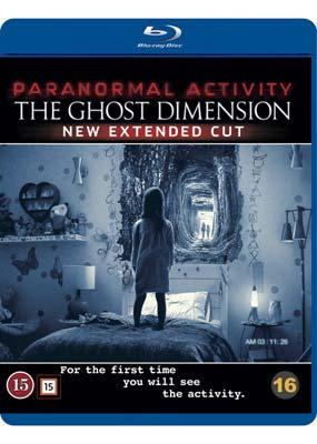 Paranormal Activity 5:  The Ghost Dimension (Blu-ray) (BD) - Klik her for at se billedet i stor størrelse.