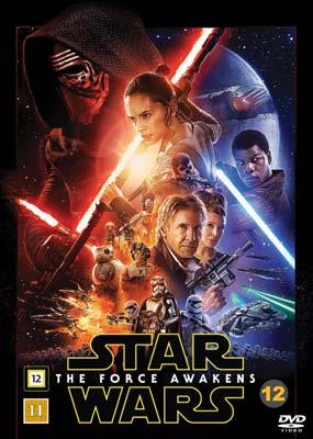 Star Wars: The Force Awakens  (DVD) - Klik her for at se billedet i stor størrelse.