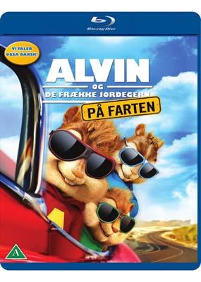 Alvin og de frække jordegern: På farten (Blu-ray) (BD) - Klik her for at se billedet i stor størrelse.