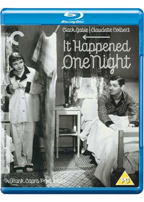 It Happened One  Night (Criterion) (Blu-ray) (BD) - Klik her for at se billedet i stor størrelse.