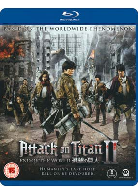 Attack on Titan - The Movie: Part 2 (Blu-ray) (BD) - Klik her for at se billedet i stor størrelse.