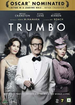 Trumbo (Bryan Cranston)  (DVD) - Klik her for at se billedet i stor størrelse.