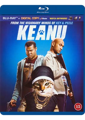 Keanu (Key & Peele) (Blu-ray) (BD) - Klik her for at se billedet i stor størrelse.