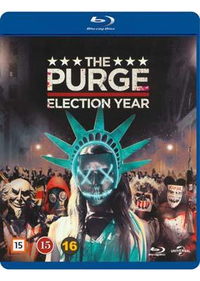 Purge, The: Election Year (Blu-ray) (BD) - Klik her for at se billedet i stor størrelse.
