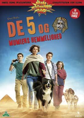 De 5 og mumiens hemmelighed (Rabalder Bio) (DVD) - Klik her for at se billedet i stor størrelse.