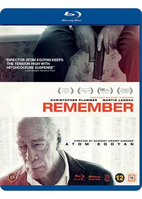 Remember (Christopher Plummer) (Blu-ray) (BD) - Klik her for at se billedet i stor størrelse.