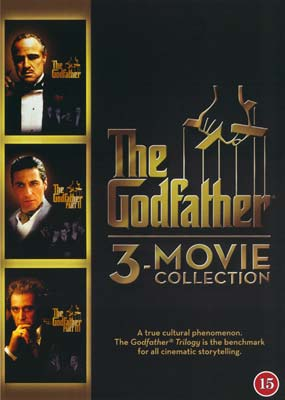 Godfather,  The: 3-Movie Collection (3-disc) (DVD) - Klik her for at se billedet i stor størrelse.