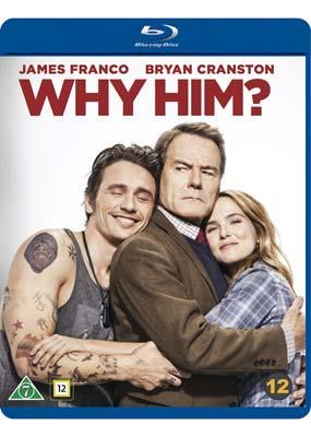 Why Him? (Blu-ray) (BD) - Klik her for at se billedet i stor størrelse.