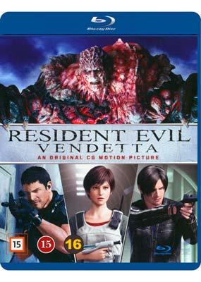 Resident Evil:   Vendetta (Blu-ray) (BD) - Klik her for at se billedet i stor størrelse.