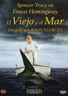 Old Man and the Sea, The (Spencer Tracy) (spansk omslag) (DVD) - Klik her for at se billedet i stor størrelse.